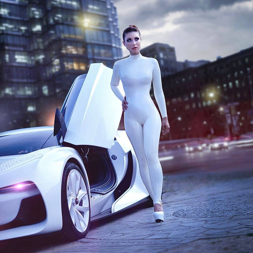 White High Performance Vehicle ;)