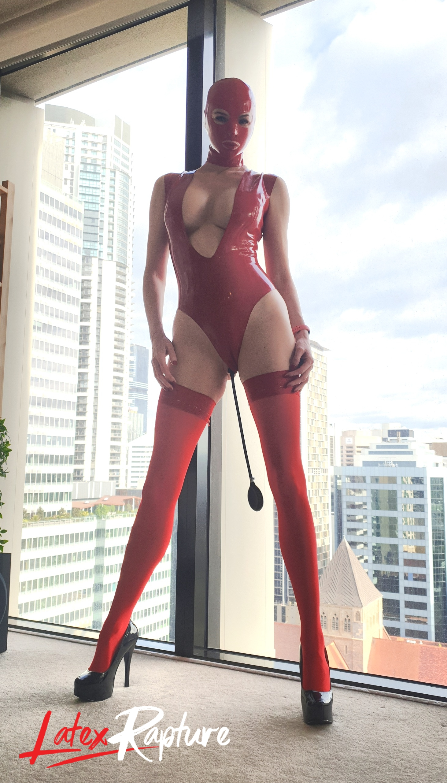 Red Latex With A Twist