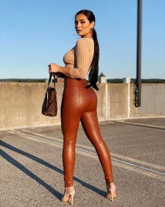 Ava Thompson's Firm Butt