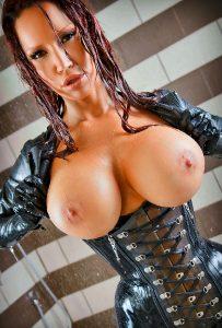 Big Wet Shiny Tits