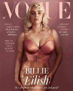 Billie Eilish For UK Vogue June 2021