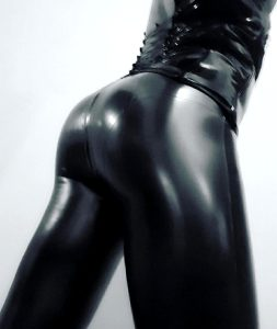 Black Shiny Ass
