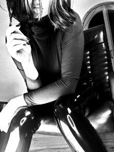 Black Shiny Vynil Leggings 🖤