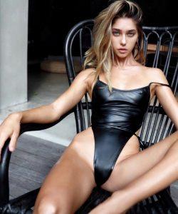 Black Suit Black Chair