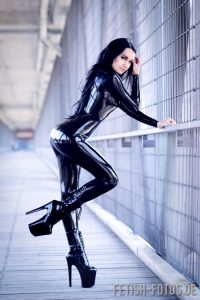 Catsuit With Heels