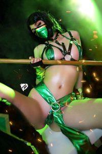 Come! I Will Do A Sandiwch With You ;) Jade Microbikini Ero Cosplay By Kate Key