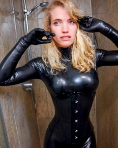 Deglossed Rubber In Shower