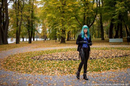 Didi Ou Outdoors In Finnish Autumn