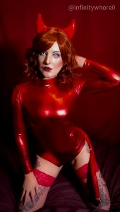 Do You Think You'll Sense The Squeaking Of My Shiny Bodysuit As I Eat Your Soul?