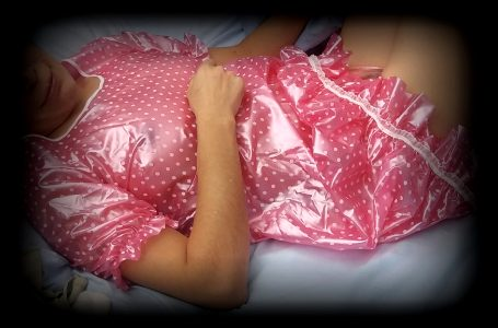 Going To Bed In Pvc Night Gown. Could Use Another Woman In Pvc Or Latex With Me. Hubby Won't Know…