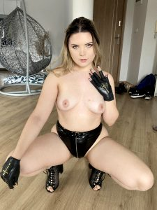 I Love My Latex Gloves And Panties