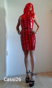 I Love My New Red Dress