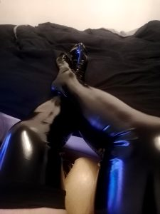 I Wish Someone Was Here To Stroke My Legs While I Wear These ;)