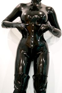 If You Can Hear This Picture Of Me It Means You Have A Latex Fetish ?