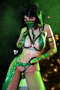 If You Don't Smash Me I Will Smash You! Jade From Mortal Kombat By Kate Key
