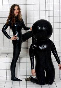 Inflated Rubber Hood