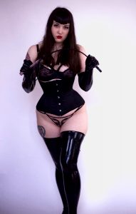 Latex, Corsets And Whips ?