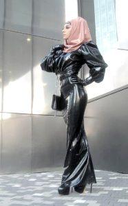 Latex Hijab