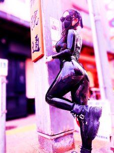 Latex In The Street – @erena_mistress