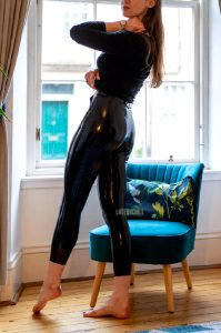 Latex Is Simply Made To Be Touched And Admired I Love How These Leggings Look And Feel Under My Hands