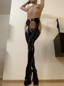Latex Strip Panties Mmmm