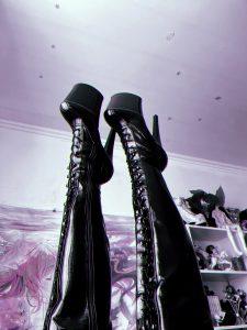 Lick My Shiny Boots 💦