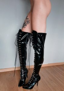 Long Legs In High Boots! 😈