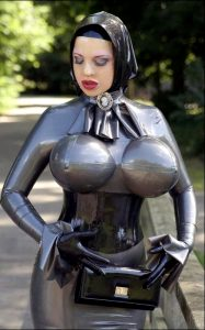 Mary Jale With Big Latex Boobs