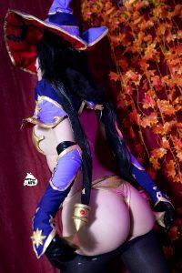 Mona Megistus Booty From Genshin Impact – By Kate Key