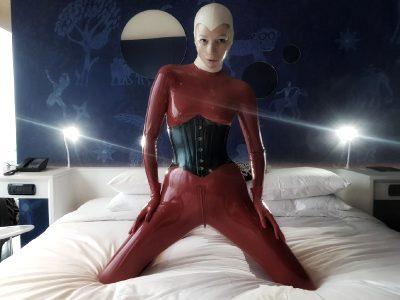 My Bed Is Made. Now Let's Play In It. I'll Unzip And You Can Entertain Me