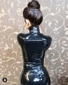 My Favourite Latex Dress Plus Some Cool Wallpaper