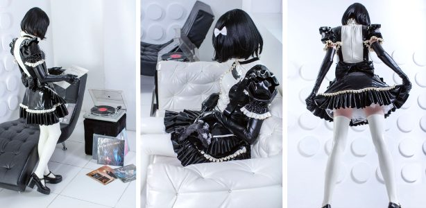 My Latex Maid Cosplay. What Do You Think?