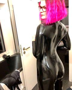 Neon Pink Hair