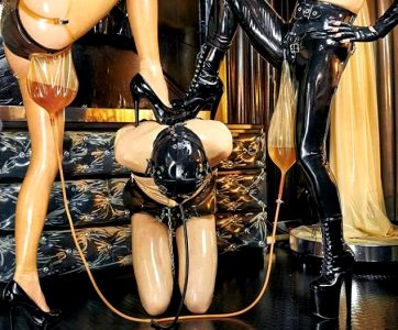 New Sub For Latex And Piss! Two Shinies!
