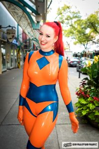 Playful In Colorful Rubber