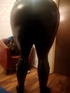 Posing In Some Leggings