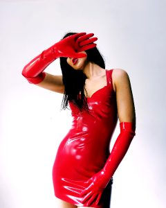 Red Is Definitely Favourite Colour Latex (f) (oc)