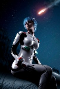Rei Ayanami Cosplay By Frosel