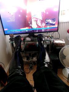 Saturday, Stockings, Sambucca, Tekken 7, Want To Join Me?