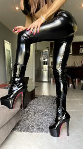 Shinny Pants! ??? Black & Pink High Heels, Awesome Mix‼️