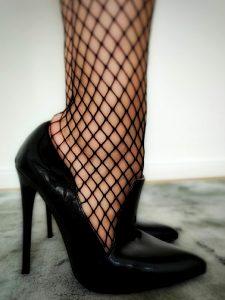 Shiny Heels Waiting To Be Worshipped
