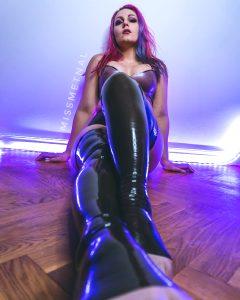 Shiny Latex Stockings ❤️