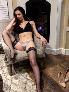 Shiny Stockings & Panties