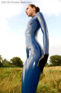 Slender In Blue
