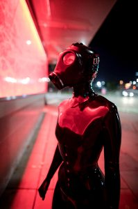 Super Shiny Latex In The City