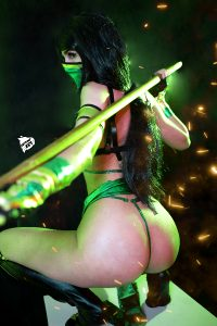 The Real Way To Do The Best KOMBAT ;) Jade Ero Cosplay By Kate Key