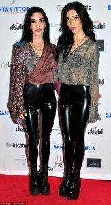 The Veronicas In Latex Leggings