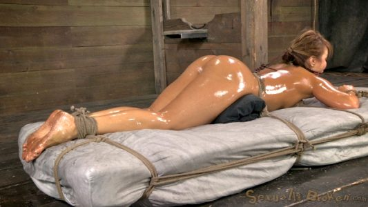 Tonight's Special Is A Slavegirl Served Piping Hot And Coated With Extra Slutty Olive Oil, Tied To A Bed Of Mattress.