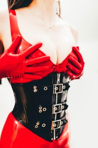 Wife Clad In Latex