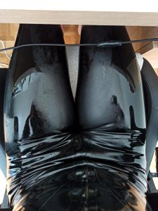 Working From Home Is A Blessing For Latex !